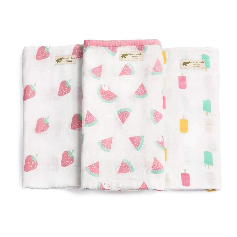 Supermom Blanket Trio