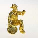 Figurine - Gold Miner In Pouch
