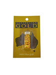24ct Pure Gold Bottle Small