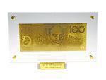 24k Gold $100 Australian Bank Note