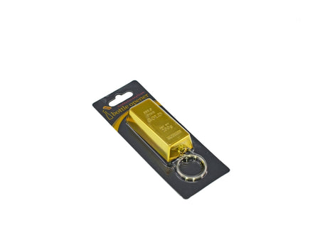 Gold Bullion Bottle Opener Key Chain