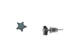 Iron Ore Star Earring