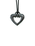 Iron Ore Small Heart Pendant
