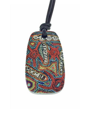Iron Ore Tablet - Aboriginal Art