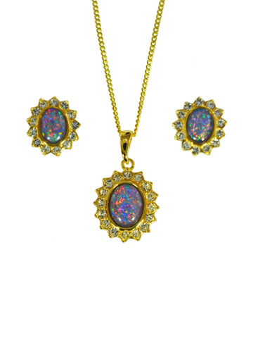 Opal Triplet Set Boxed