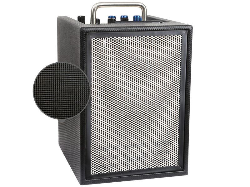 "Elite Acoustics ""EAE"" A1-4 MKII 40 Watt Battery Powered Acoustic Amplifier with 2 chan/Effects and Bluetooth"