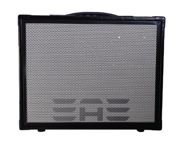 "Elite Acoustics ""EAE"" D6-58 120 Watt Acoustic Guitar and Vocal Amplifier with Lithium Battery and Bluetooth  - with 6 channel Digital Mixer - BLACK"