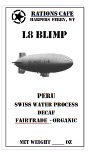 Decaf, Swiss Water Process, Peru, L8, 5 pounds