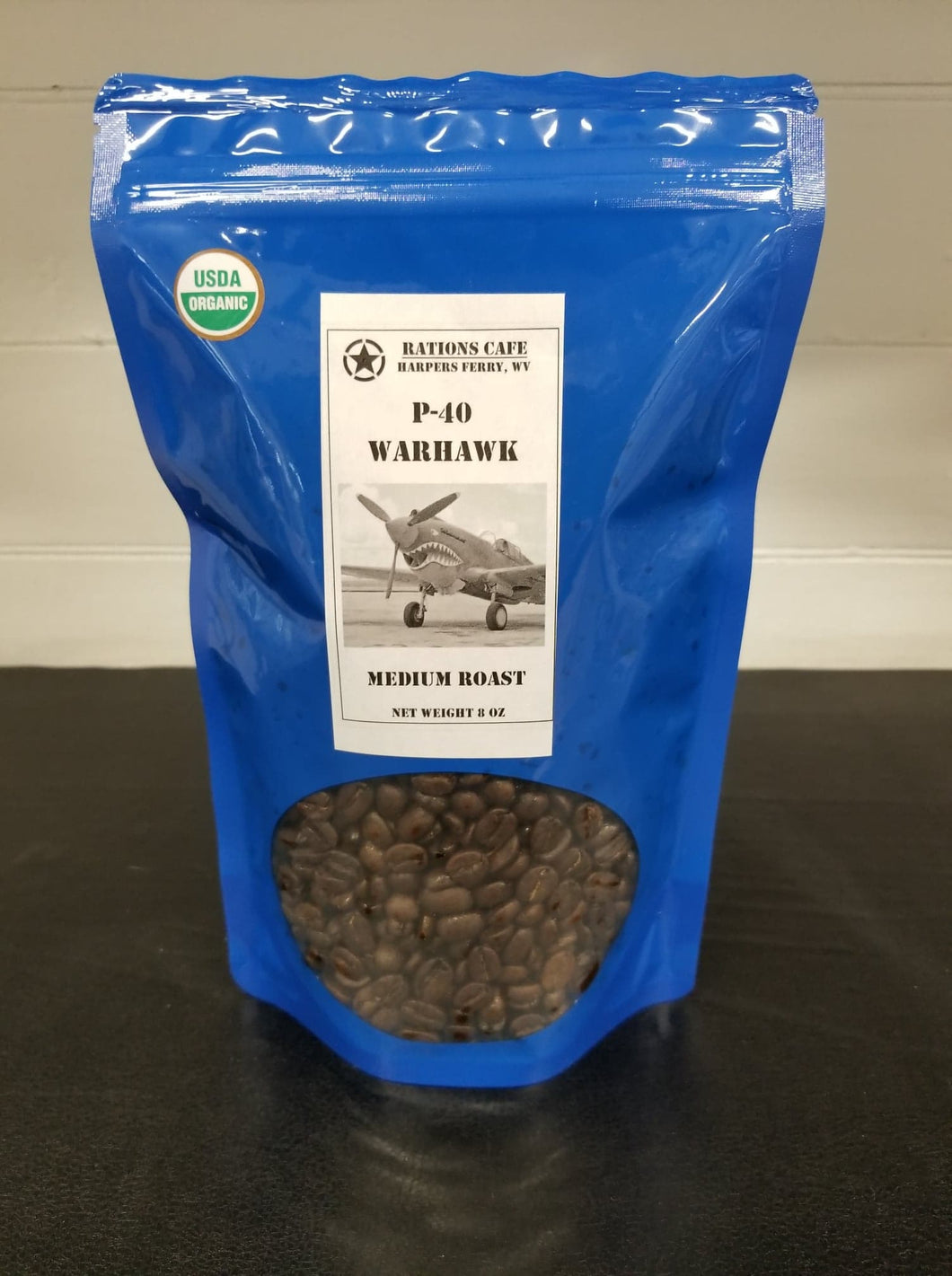 Medium Roast, Honduras, P-40, Organic, 8 ounce