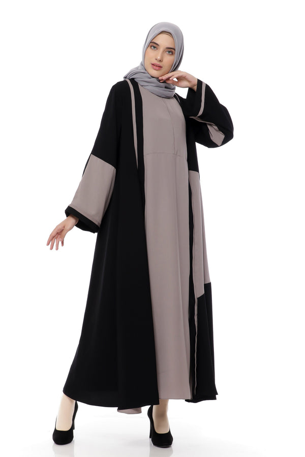 Dress Taffani Busui Black - Coffee