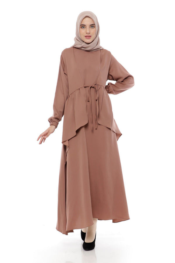 Dress Alzaira Choco