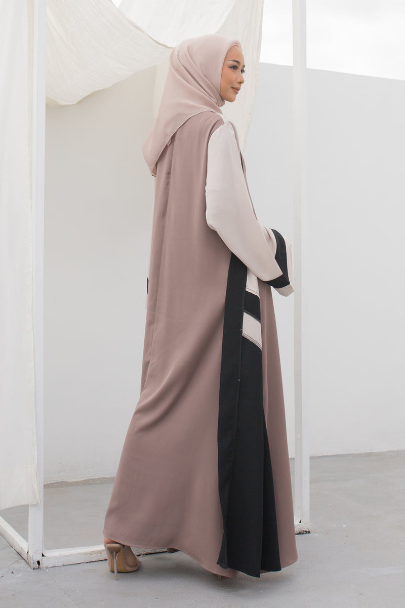 Dress Aghnia Brown