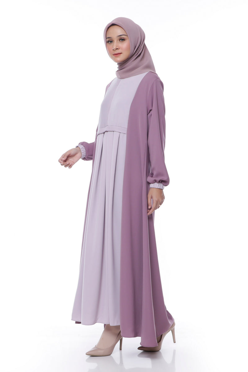 Dress Ganesha Busui Dark Purple