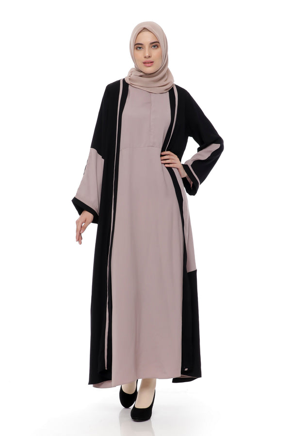 Dress Taffani Busui Black - Purple