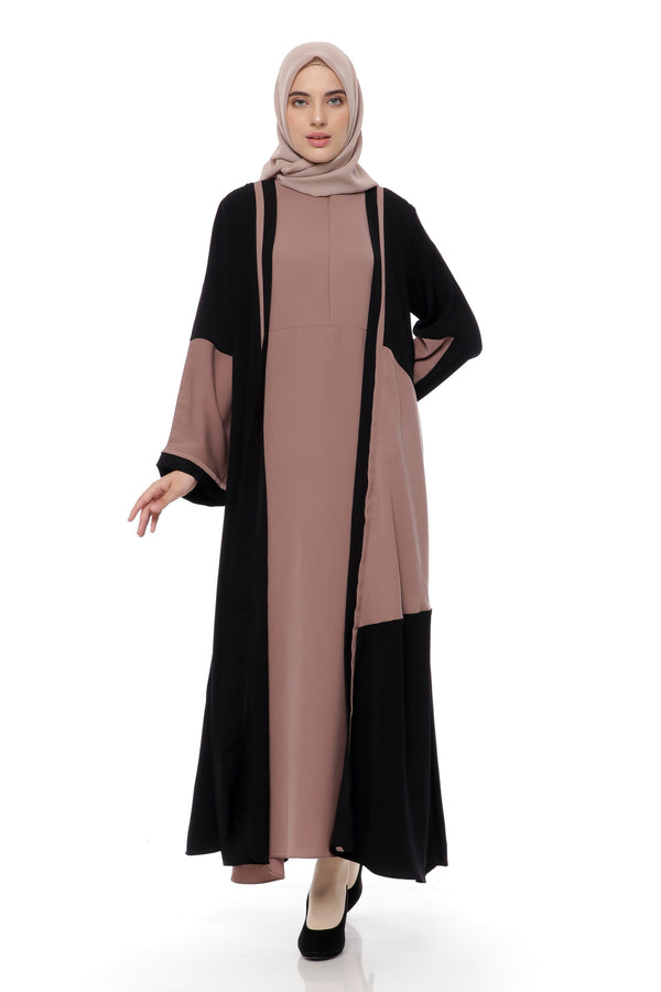 Dress Taffani Busui Black - Brown