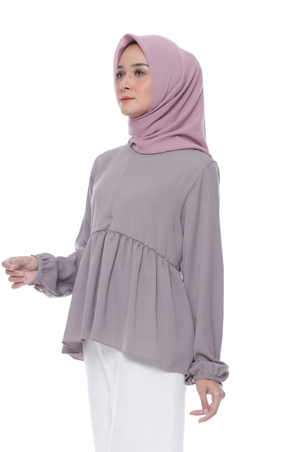 Blouse Sabrina Busui Coffee
