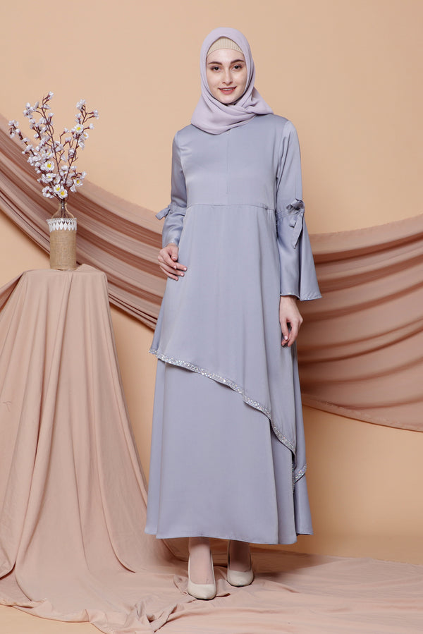 Kaftan Sekar Light Grey