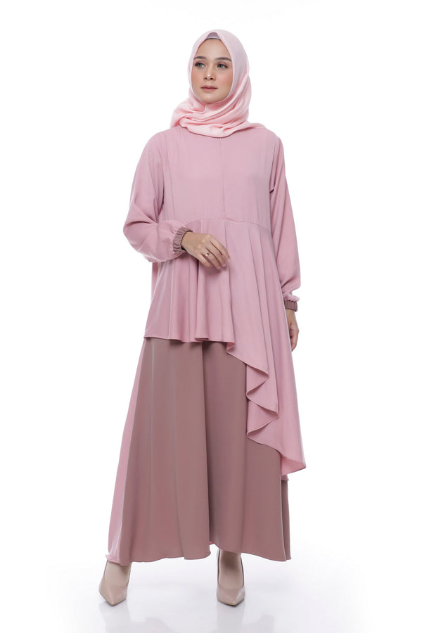 Dress Clarinta Busui Dusty Pink