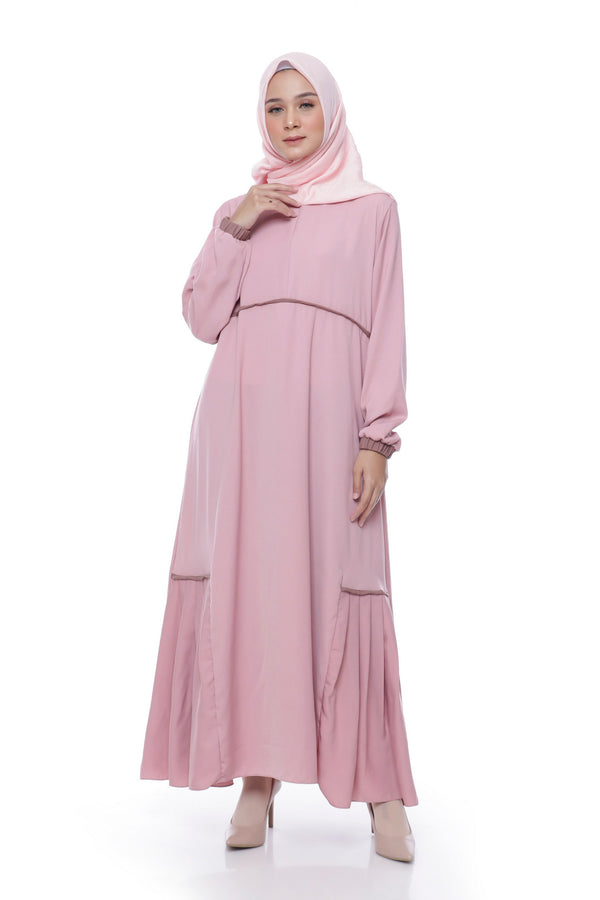 Dress Gauri Busui Dusty  Pink