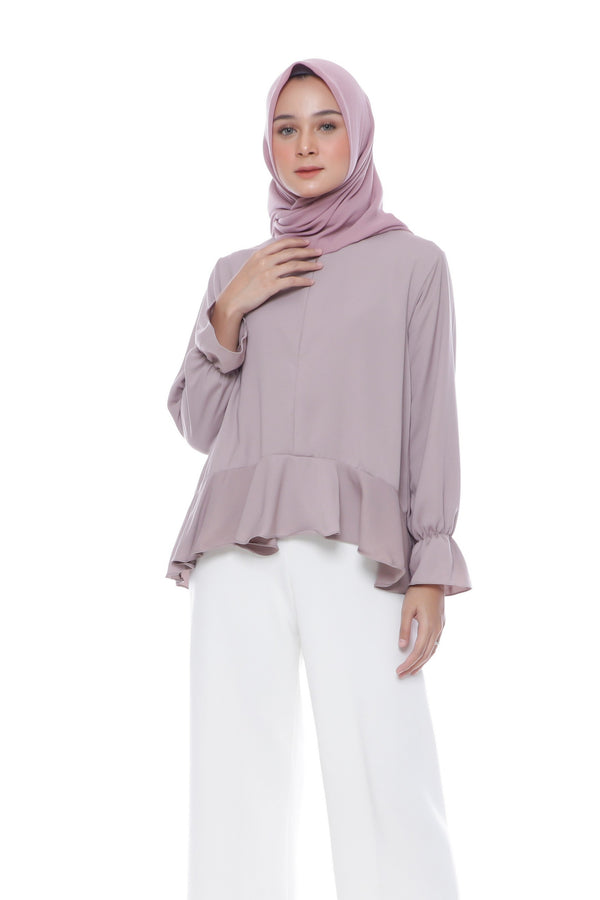 Blouse Purry Busui Purple