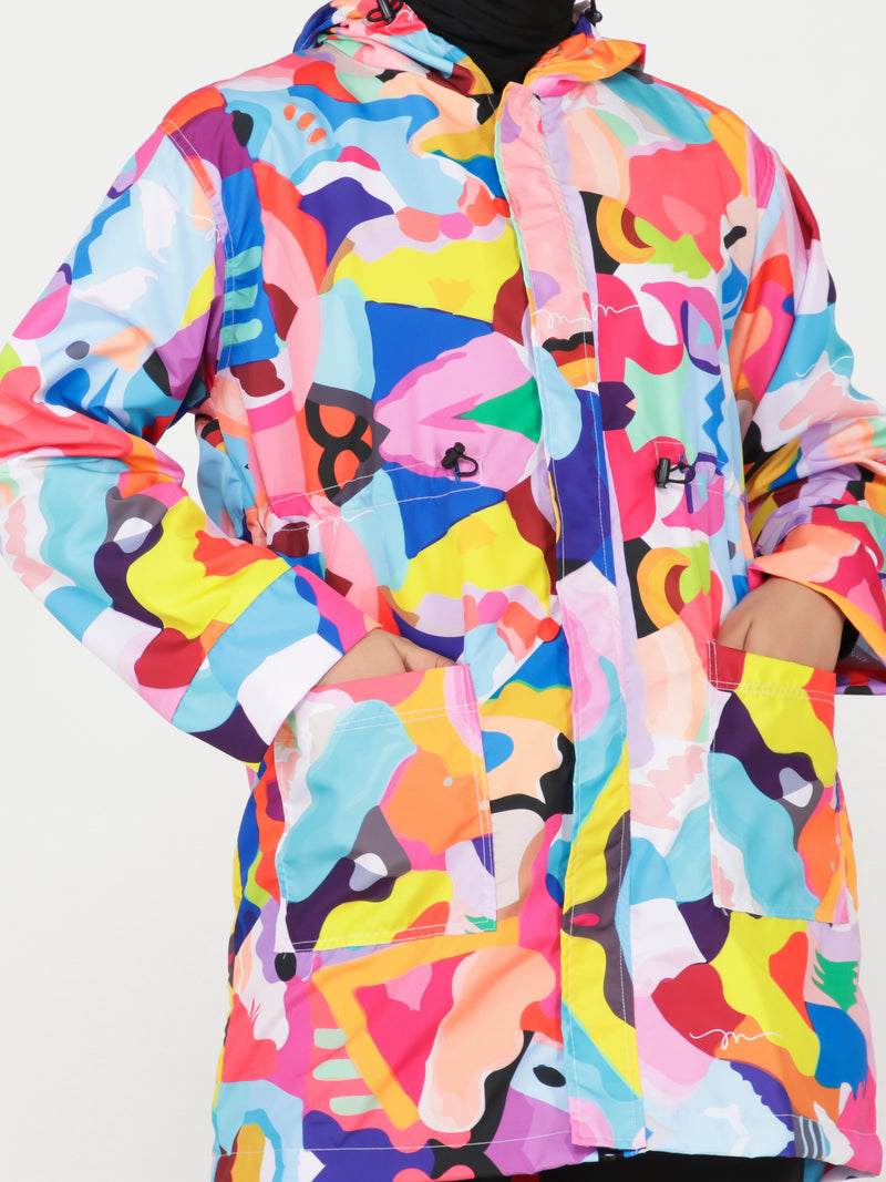 Hasya All Over Print Jacket