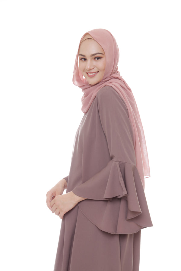 Pashmina Voal Light Salmon
