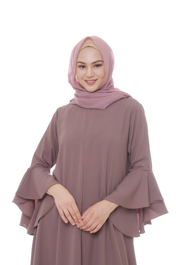 Pashmina Voal Nude Berry