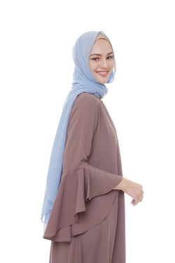 Pashmina Voal Blue Denim