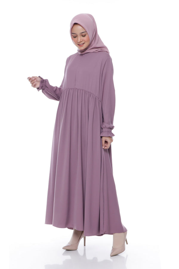 Dress Akilah Busui Dark Purple