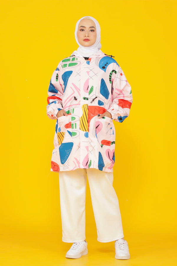 Beza All Over Print Jacket