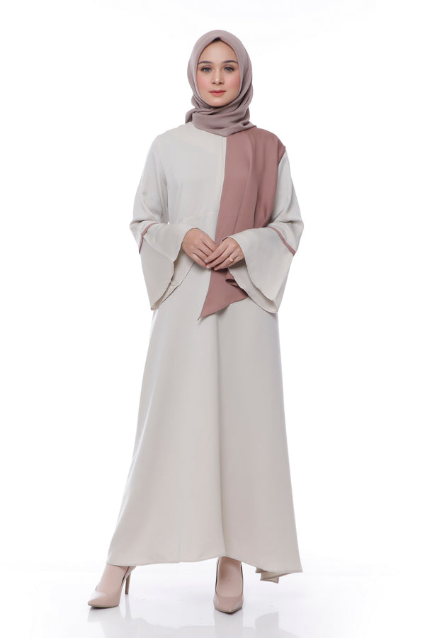 Dress Carla Busui Cream