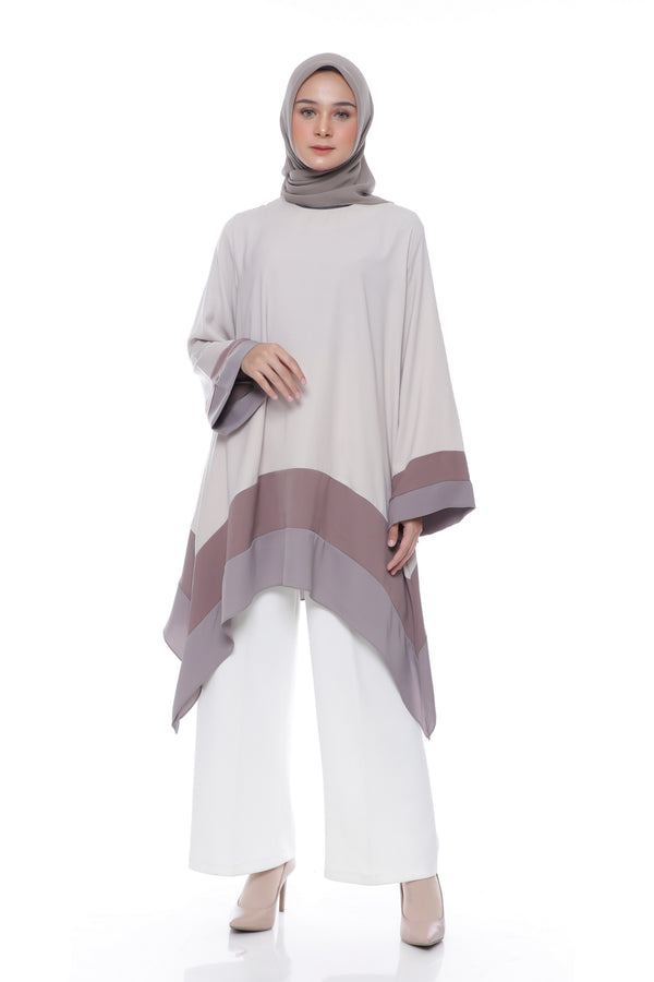 Tunik Azni Cream