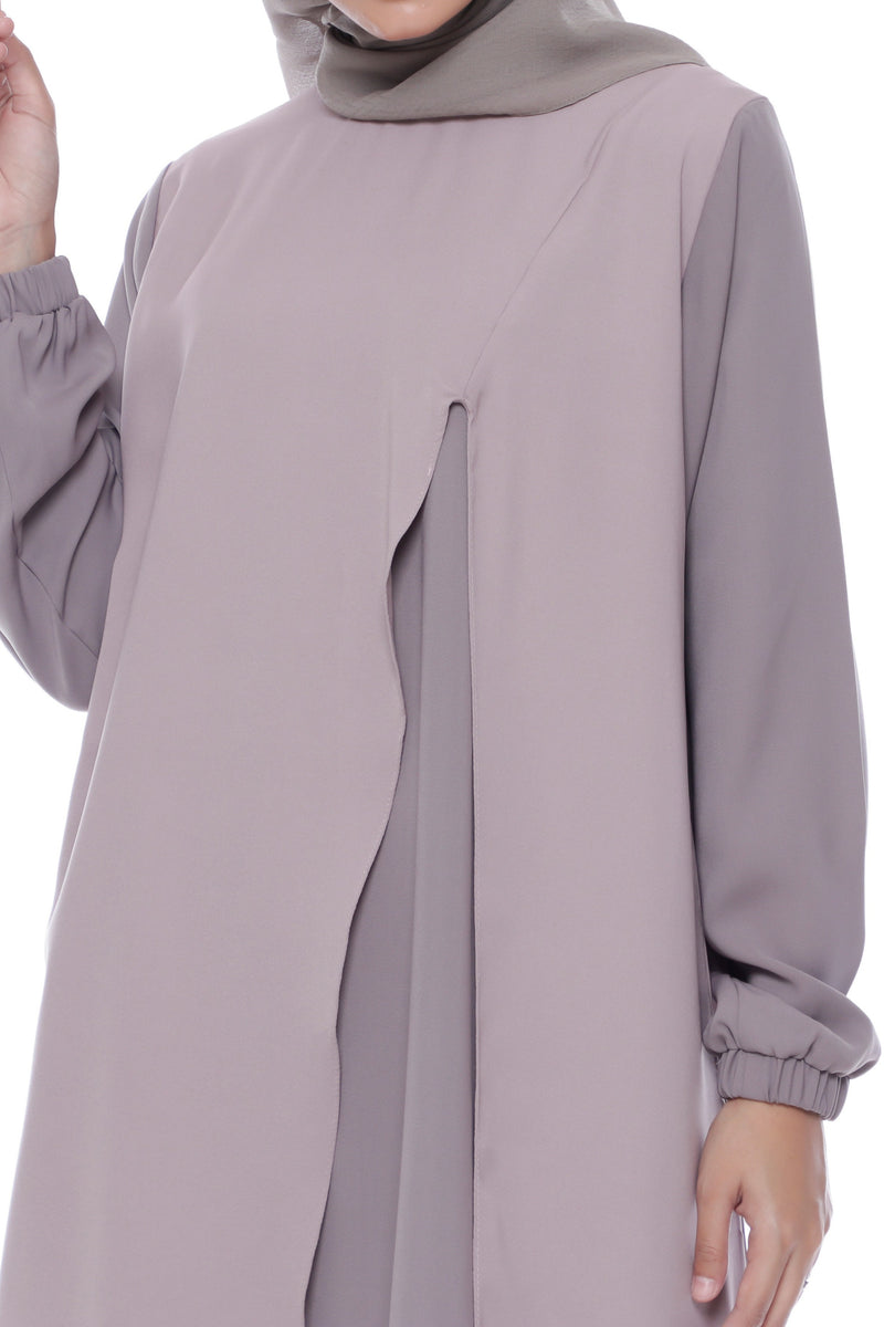 Tunik Zinnia Purple