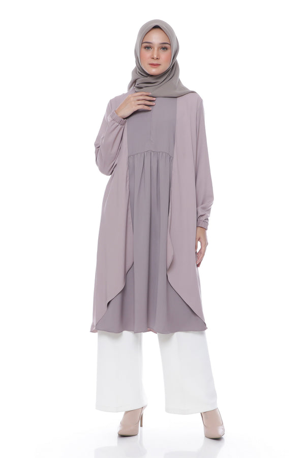 Tunik Fiza Busui Purple