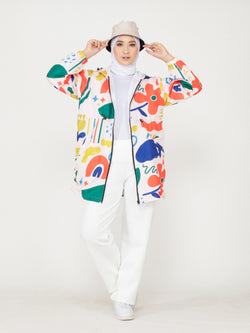 Bella All Over Print Jacket