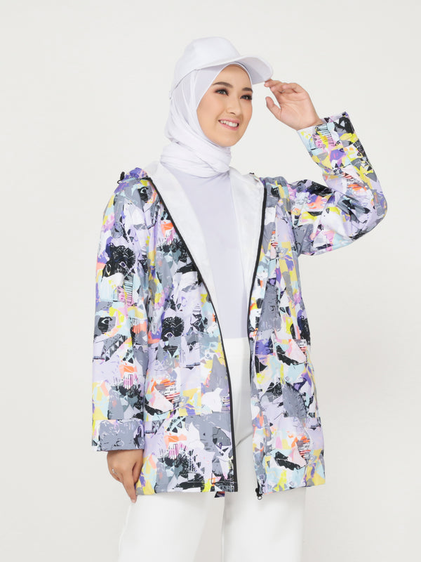 Claudia All Over Print Jacket