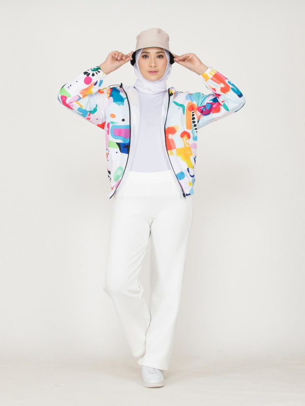 Fayza All Over Print Jacket
