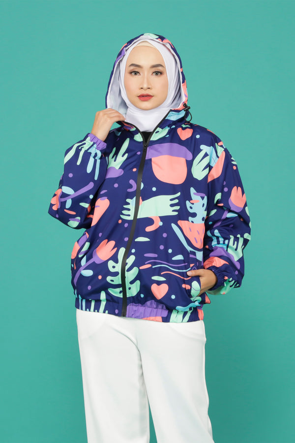Belvia All Over Print Jacket