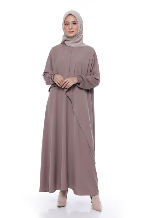 Dress Aisyah Busui Brown