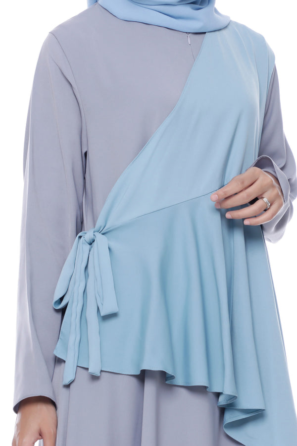 Dress Naresha Busui Grey
