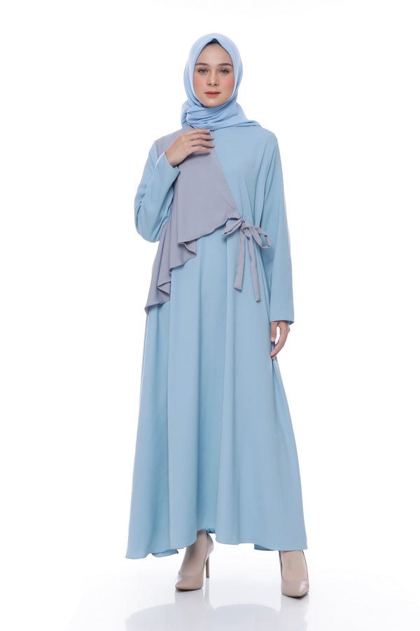Dress Yashinta Busui Blue Tosca