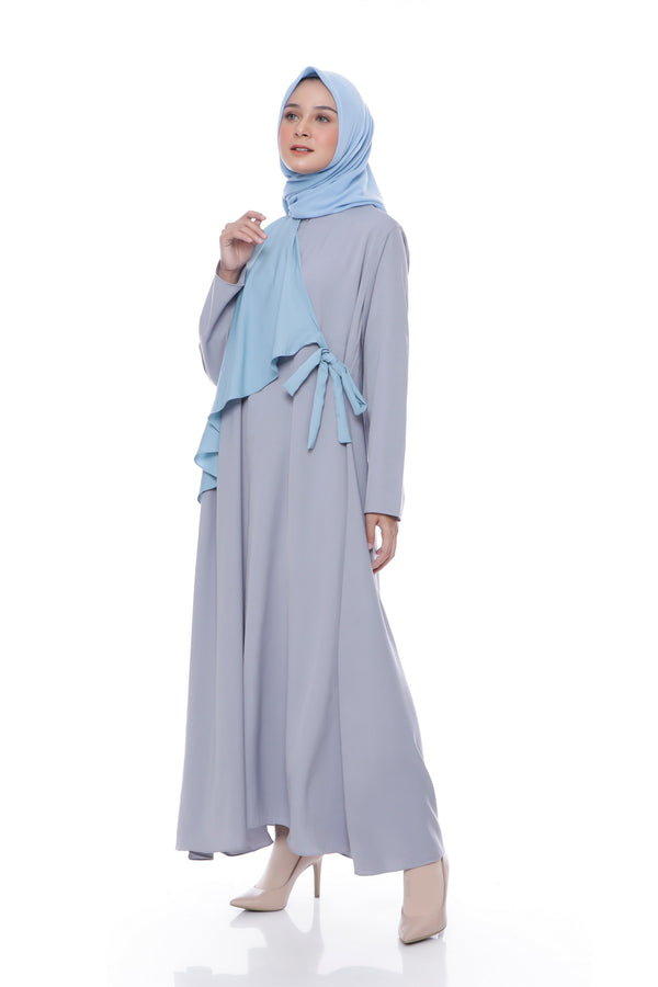 Dress Yashinta Busui Grey