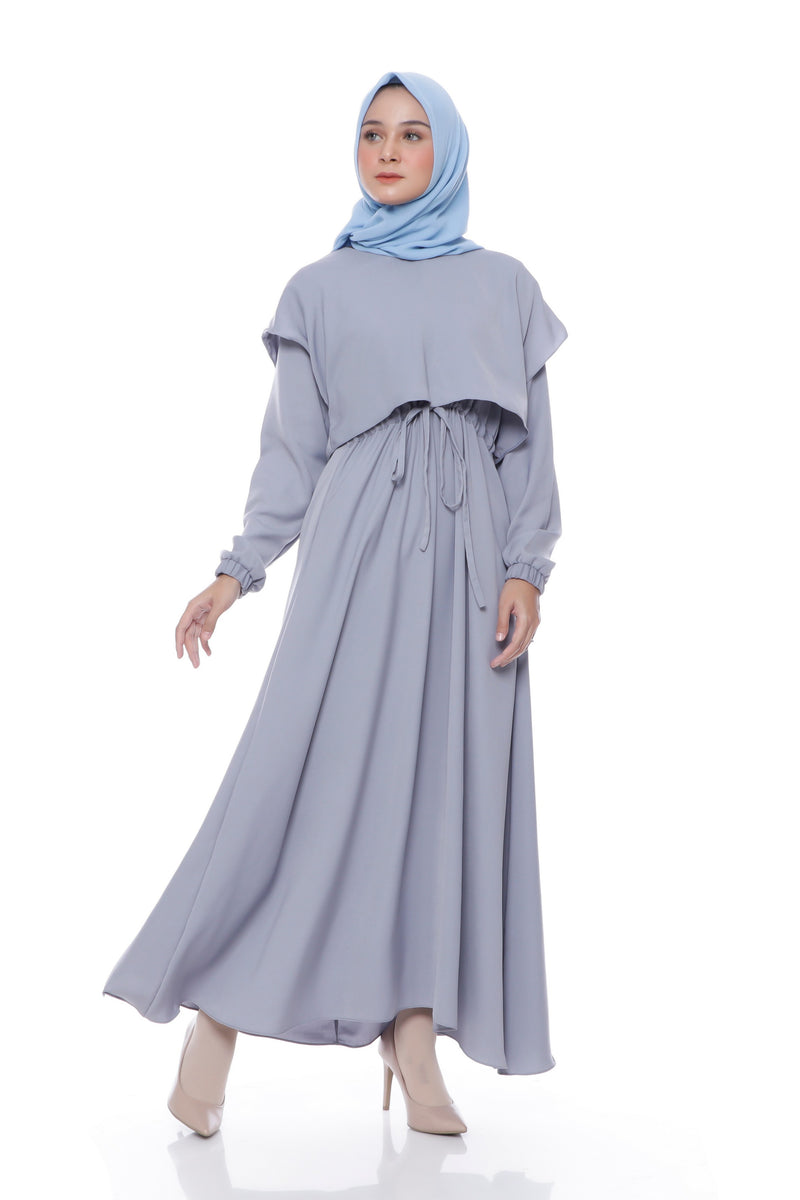 Dress Hawa Grey