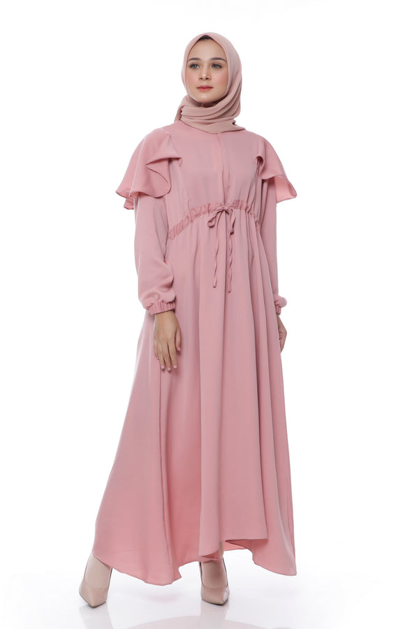 Dress Asila Busui Dusty Pink