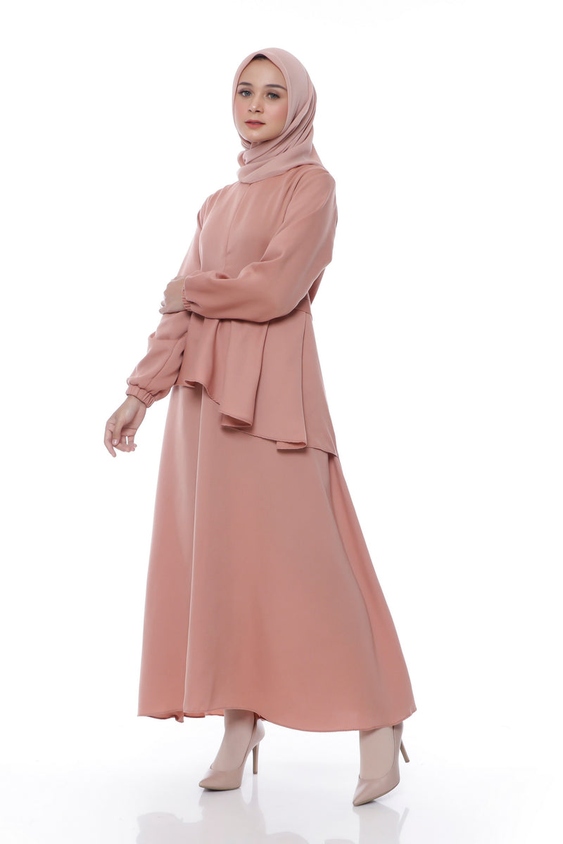 Dress Naisha Busui Dress Orange