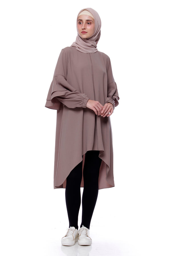 Tunik Nesya Brown