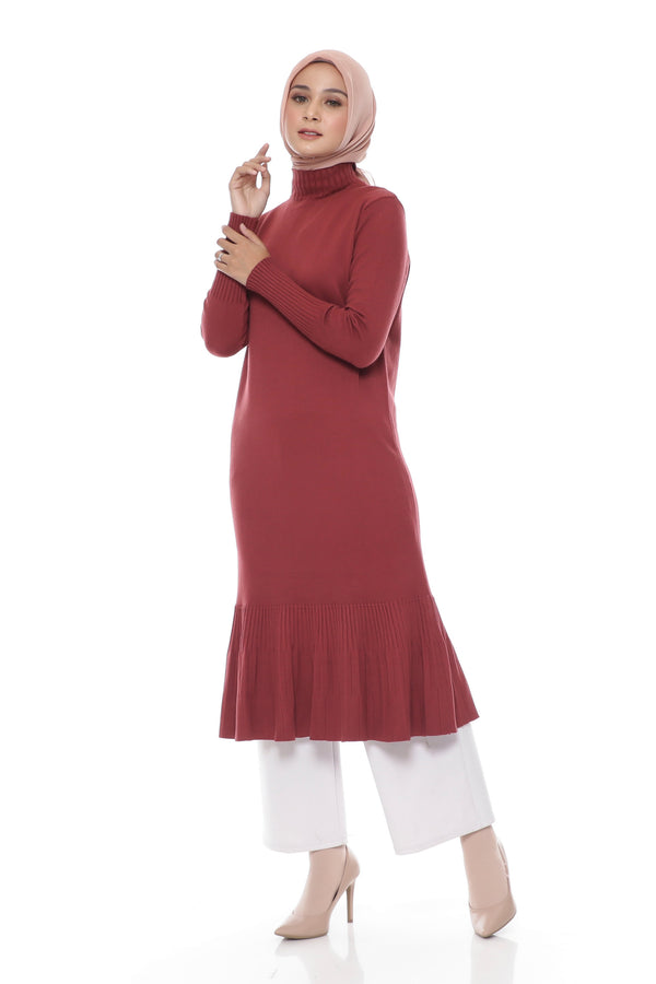 Tunik Aurelia Stamp Knit