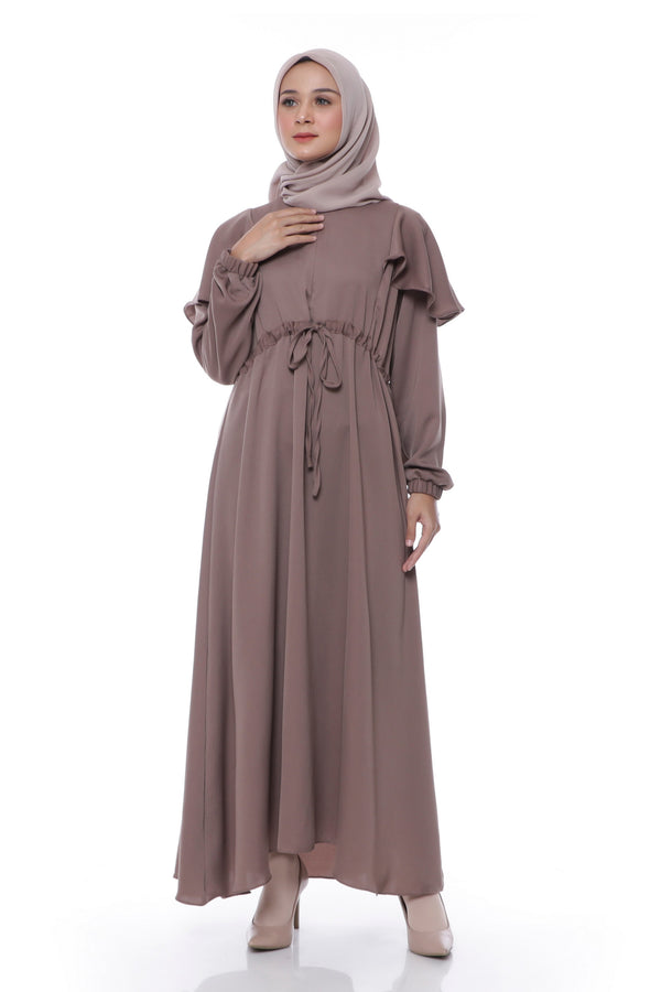 Dress Asila Busui Brown