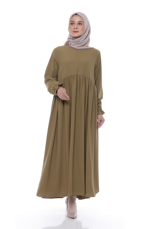 Dress Akilah Busui Green