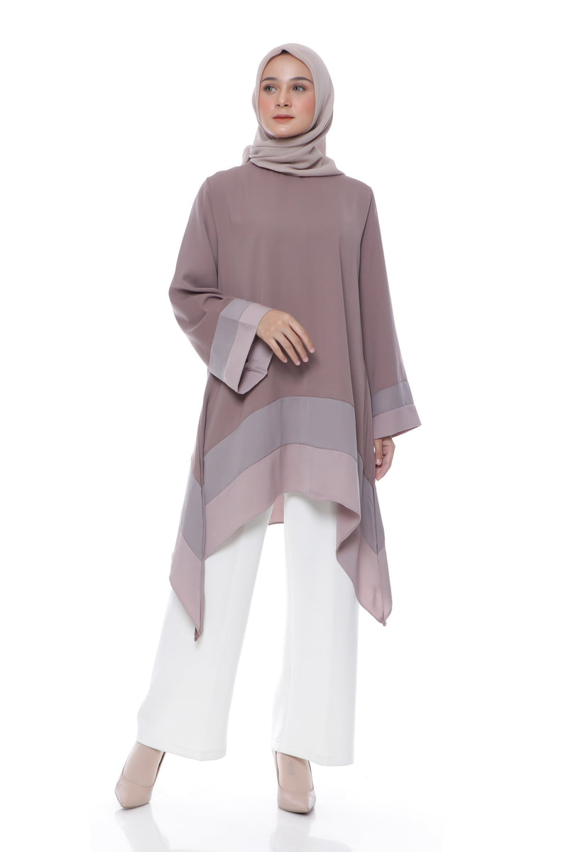 Tunik Azni Brown